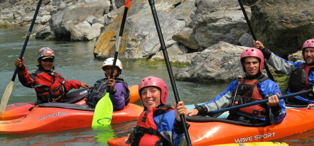 Lower seti kayak school