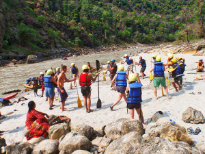 Rafting in Pokhara