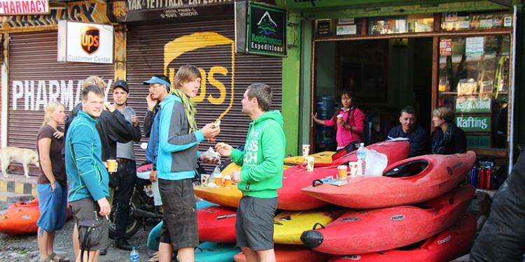 Rafting in Pokhara