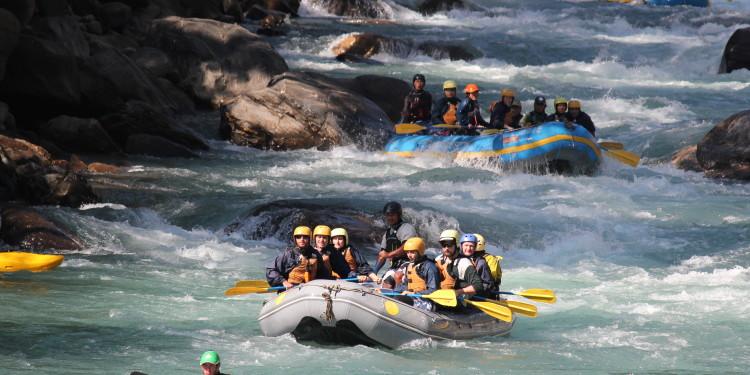 Trisuli, Rafting in Nepal
